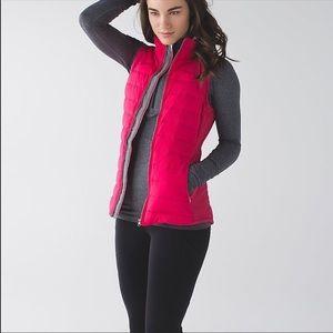 Lululemon Fluffed Up Vest Size 6